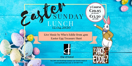 Easter Sunday Lunch with Music by Who Is Eddie tickets