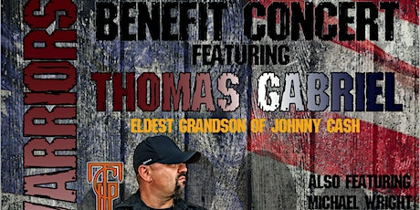 Thomas Gabriel and Michael Wright Benefit Concert for Paws and Warriors tickets