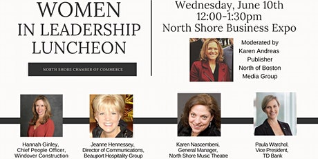 """Wednesday, June 10th """"Women in Leadership - Expo Luncheon"""" tickets"""