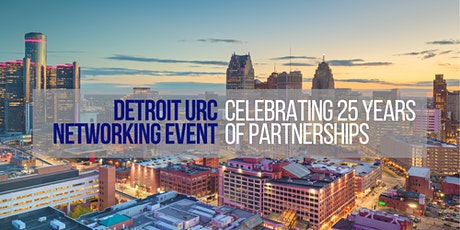 Detroit Urban Research Center 25th Anniversary: EVENT POSTPONED tickets
