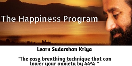 Happiness Program with live online appearance by Sri Sri tickets