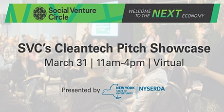 SVC Cleantech Pitch Showcase Presented by NYSERDA tickets