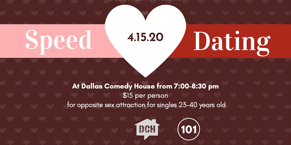 Speed dating dallas over 40