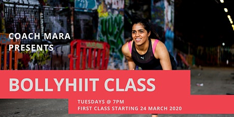 BollyHIIT women's only exercise class with Mara tickets