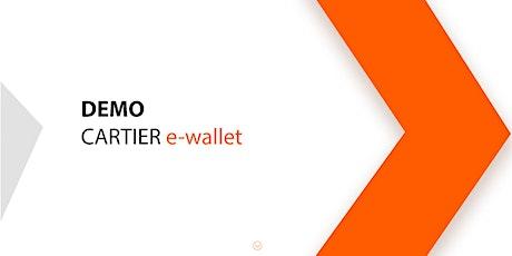 Cartier Demo e-wallet biglietti
