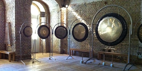 Gong Bath meditation The Hub st Mary's church Litchfield. tickets