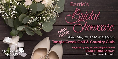 Barrie Bridal Showcase - Spring 2020 - NEW DATE tickets