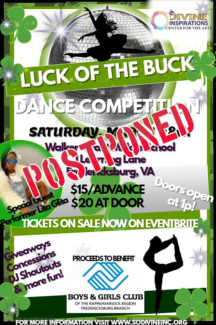 Luck of the Buck Dance Competition image