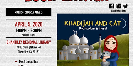 BOOK Launch Party - Khadijah and Cat Ramadan is here! tickets