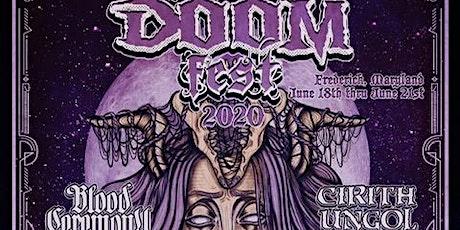 Md DooM Fest 2020 Weekend  Passes tickets