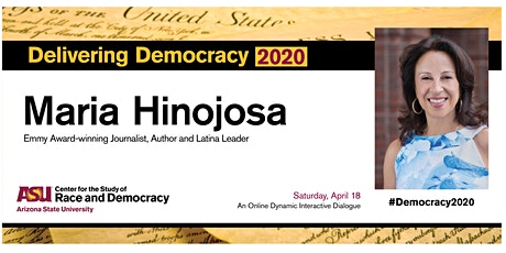 Delivering Democracy 2020 featuring Maria Hinojosa tickets