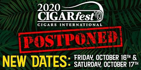 CIGARfest 2020 - Friday October 16th, 2020 tickets