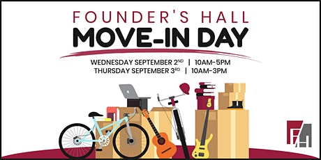 Move-In Day pt.1: Fall 2020 tickets