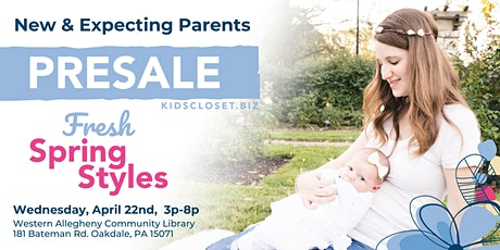 KCC SW Pittsburgh: New & Expecting Parents Presale tickets