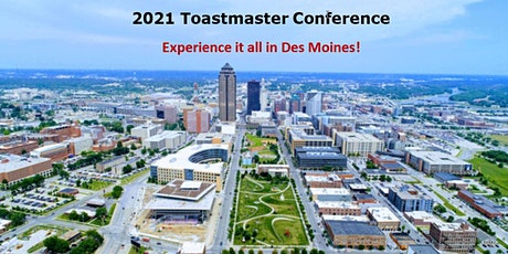 2021 D19 Toastmasters Spring Conference tickets