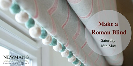 Make A Roman Blind Workshop- Date TBC tickets