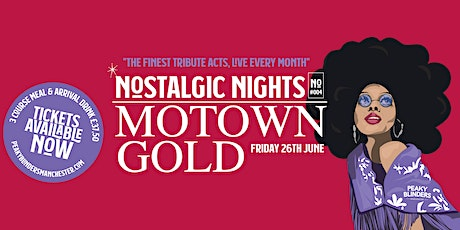 Nostalgic Nights - Motown Gold tickets