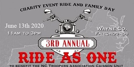 3rd Annual Ride As One tickets
