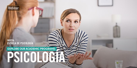 #Webinar Explore our academic programs: Psicología entradas