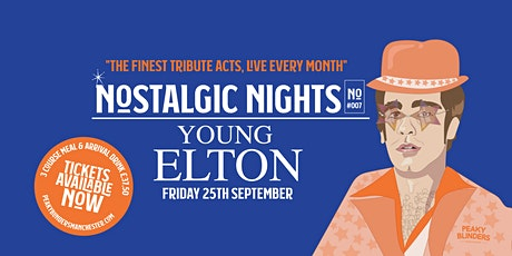 Nostalgic Nights - Young Elton tickets