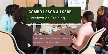 Combo LSSGB & LSSBB 4 day classroom Training in Pine Bluff, AR tickets