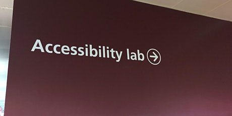 NHS Digital Accessibility Lab 'Open House' tickets