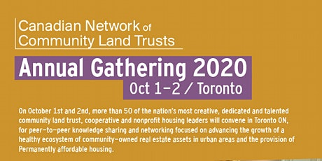 CNCLT Annual Gathering - October 1 Bus Tour of Toronto CLTs tickets