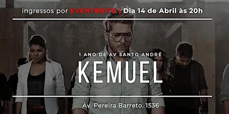 Kemuel na Além do Véu Santo André ingressos