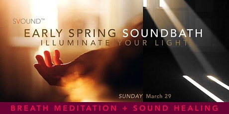 ONLINE  SOUNDBATH: Breath Meditation + Sound Healing tickets