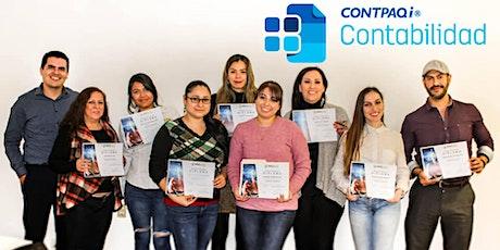 Curso  presencial CONTPAQi Contabilidad boletos