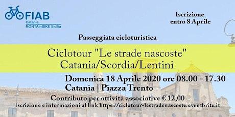"""Ciclotour """"Le strade nascoste"""" - Catania/Scordia/Lentini biglietti"""