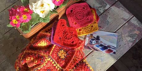 Vintage Crochet Squares Online Workshop with Sarah Brown tickets