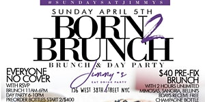 Born 2 Brunch: Bottomless Brunch + Day Party at...