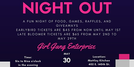 NIGHT OUT tickets