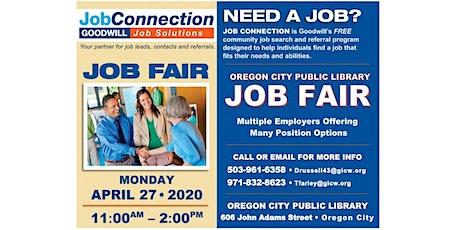 Job Fair - Oregon City - 4/27/20 tickets