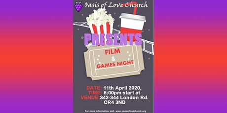 Film & Games Night tickets