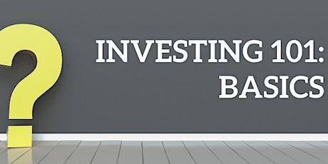 Investing 101: Basics tickets