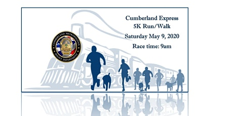 CUMBERLAND EXPRESS 5K RUN/WALK ***RESCHEDULED*** MAY 9, 2020 tickets