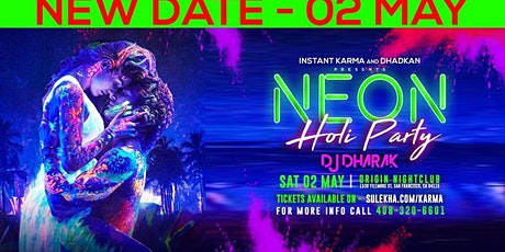 Neon Holi Party with India's DJ Dharak tickets