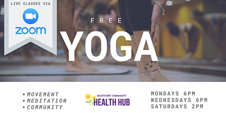 ONLINE: Free Yoga at the Global Market tickets