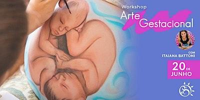 Workshop Arte Gestacional  -  Uma vivência de conexão através da arte