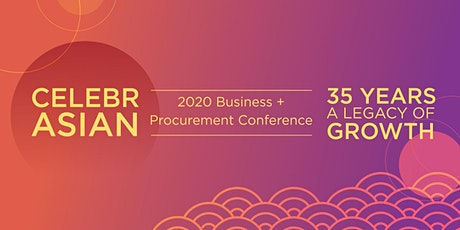 CelebrASIAN 2020 Business + Procurement Conference tickets