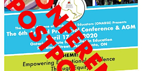 ***POSTPONED*** ONABSE 2020 Provincial Conference & AGM tickets