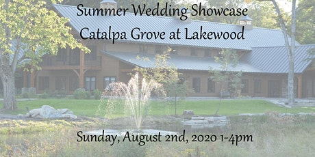 Summer Wedding Showcase at Catalpa Grove at Lakewood tickets
