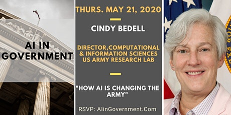 AI in Government - Cindy Bedell, Dept. of Army tickets