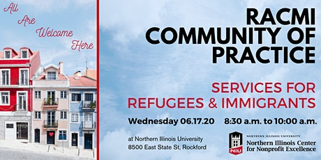 6.17.2020 RACMI Community of Practice - Services for Refugees & Immigrants tickets