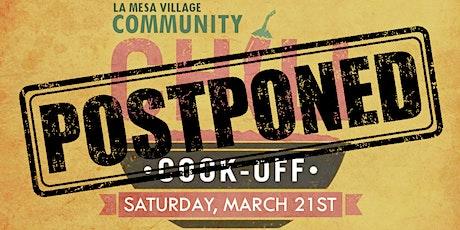 La Mesa Village Community Chili Cook-off  tickets