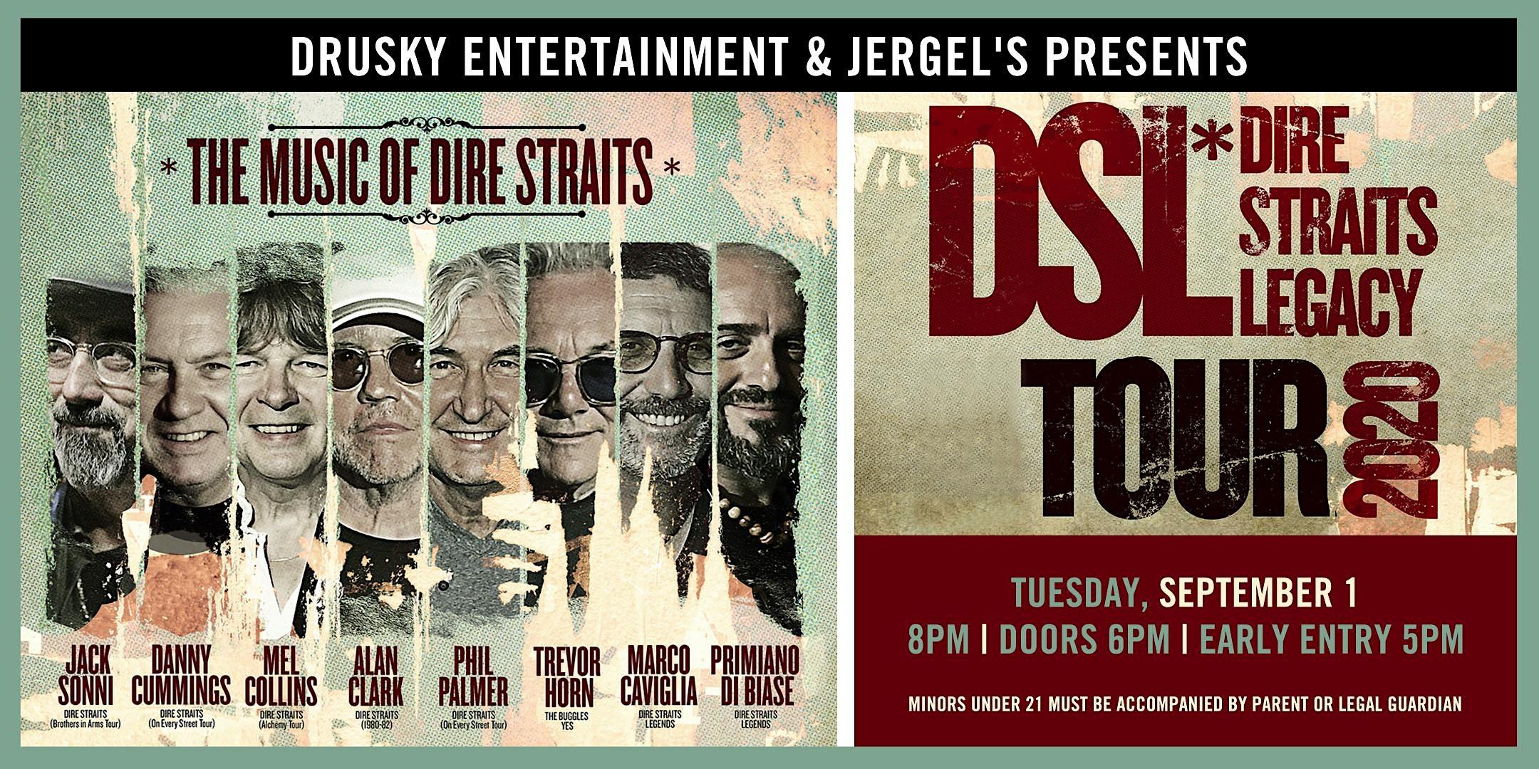 Drusky Entertainment Dire Straits Legacy Tickets Jergels
