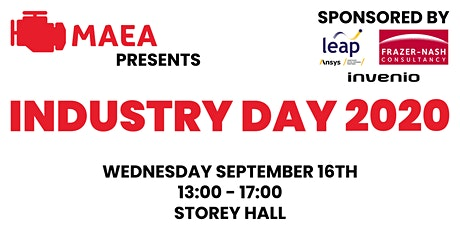 MAEA's Industry Day 2020 tickets