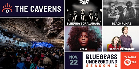 Bluegrass Underground PBS TV Taping - Sunday tickets
